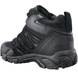 Blackhawk! Terrain Mid Training Shoe, Medium, Antimicrobial Lining, Lightweight, Black MD01BK