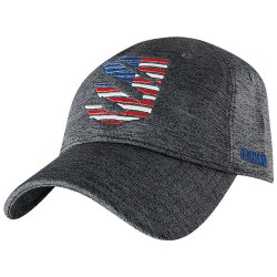 BLACKHAWK TRIDENT CAP, 90% polyester/10% spandex, 100% cotton interior sweatband, Adjustable back closure, One Size Fits All, EC07