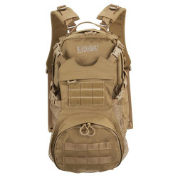 BLACKHAWK CYANE™ DYNAMIC PACK, Removable 3-D mesh padded back panel, Easy-grip zipper pulls, Removable padded shoulder straps, One slash pocket on main compartment and two on front compartment, 60CD00