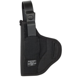 Blackhawk! Nylon Askins Style Hip Holster, Ambidextrous,  Fits belts up to 1.75 Inch wide, Black 40NA0