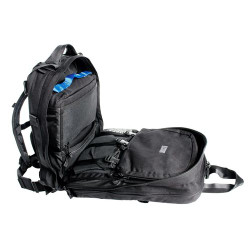 BLACKHAWK S.T.O.M.P. II™ MEDICAL COVERAGE PACK (JUMPABLE), 1000 denier nylon with reinforced stitching, Webbing on underside for accessory packs or medic/sleeping rolls, Multiple small and medium pockets, Several flat netted zipper pockets, 60MP01