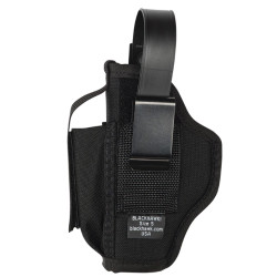Blackhawk! Nylon Ambidextrous Multi-use Holster, Black 40AM