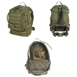 BLACKHAWK BARRAGE™ PACK, Includes 100-oz. hydration reservoir, Wide opening for easy access to contents, 3-D mesh back panel with frame, Several internal pockets and dividers, 65BG00