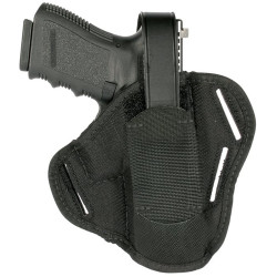 Blackhawk! Nylon 3-Slot Pancake Holster, Black 40PC