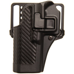 Blackhawk! SERPA® CQC® Concealment Holster Carbon-fiber Finish, Black 4100