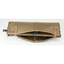 BLACKHAWK DIVERSION® PADDED WEAPON TRANSPORT INSERT, Constructed of 420 velocity nylon, Padding protects firearm during transport, Hook & loop straps secure insert in closed/folded positions, 80PI00