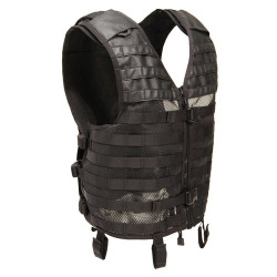 BLACKHAWK CUTAWAY OMEGA™ VEST, Constructed of durable nylon mesh for maximum breathability, Belt loops secure vest to web belt, 30CV01