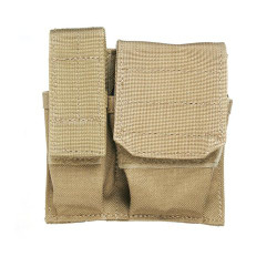 BLACKHAWK 37CL55 CUFF/MAG/LIGHT POUCH - MOLLE, Mounts to any S.T.R.I.K.E.® or PALS/MOLLE platform, available in Black, Coyote Tan and MultiCam
