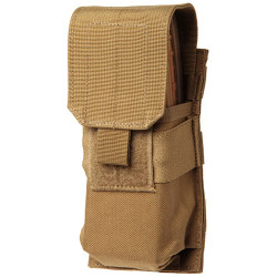 Blackhawk 37CL02 M4/M16 Single Mag Pouch (Holds 2) - Molle, Mounts to Any S.T.R.I.K.E.® or PALS/MOLLE Platform, Black, MultiCam, and Olive Drab