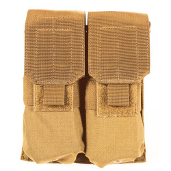 Blackhawk 37CL03 M4/M16 Double Mag Pouch (Holds 4) - Molle, Mounts to Any S.T.R.I.K.E.® or PALS/MOLLE Platform, Black, Coyote Tan, Olive Drab, and MultiCam