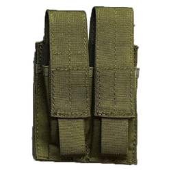 BLACKHAWK 37CL09 DOUBLE PISTOL MAG POUCH - MOLLE, Mounts to Any S.T.R.I.K.E.® or PALS/MOLLE Platform, Black, Olive Drab, and MultiCam