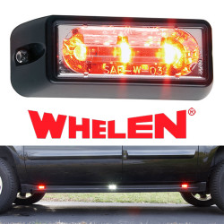 Whelen LIN3 LED Lighthead, With 25 Scan-Lock™ Flash Patterns and Synchronize Feature, For Horizontal Mounting, Red, Blue, Amber, Green or White