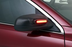 Whelen Police Interceptor Sedan Taurus Side View Mirror Beams LED Lightheads, Pair, Kit, 2013-2019
