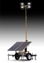 Wanco Solar Light Tower with 500W Solar Panel