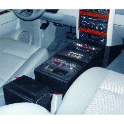 Durango 2007-2009 Law Enforcement Console by Jotto Desk, includes faceplates and filler panels