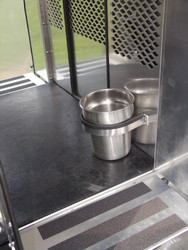 Police K9 Dog Transport water bowl option by Havis