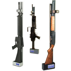 Single Weapon Vertical Gun Rack Lock by Tufloc