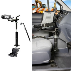 Gamber Johnson 7170-0131 Laptop, Tablet, Keyboard Mount Kit for Ford Transit Connect Stand Alone