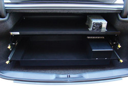 Double Trunk Tray for Law Enforcement Cars