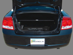 Trunk Tray with Sliding Shelf - Lock N Lock Out