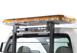BACKRACK Truck Bed Equipment or Lighting Mounting Rack and Rear Window Cargo Barrier, No Holes Drilled