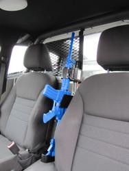 Gun Rack for Law Enforcement Vehicles by Progard Partition Mount G4906