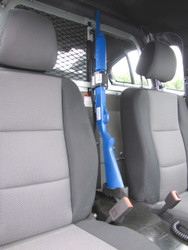 Gun Rack for Police Vehicles by Progard Partition Mount G4906