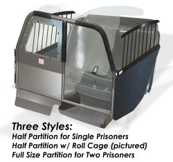 Caprice 2011+ Law Enforcement Prisoner Transport ProCell Package by Progard, 1 or 2 Prisoners