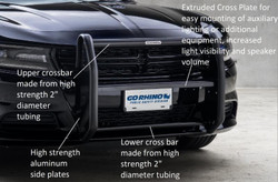 Go Rhino Dodge Charger Push Bar Brush Guard 2006-2019