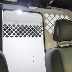 Havis Ford Police Interceptor Utility SUV K9 Dog Transport Kennel System 2013 to 2019