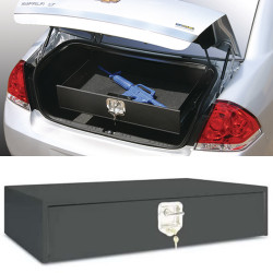 Tufloc 36-016 TufBox Security Drawers Chevy Impala: 8X34X20, Secure Weapon Lock Box, Powder Coating, Black
