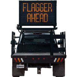 Wanco Truck Mount Message Board Sign, Arrow Board, and Full Graphic Display WVMBM, for Flat bed or Pickup Truck