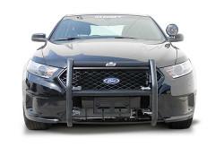 Go Rhino Ford Law Enforcement Interceptor Sedan Taurus Push Bar Brush Guard 2013-2019