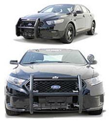 Go Rhino Ford Law Enforcement Interceptor Sedan Taurus Push Bar Brush Guard 2013-2019