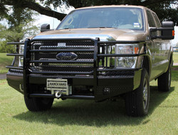 Ranch Hand 2011+ Super Duty Ford F250-550 Winch Ready Push Bar Brush Guard
