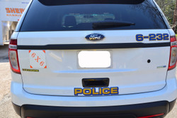 Interceptor SUV Utility Explorer Police Vehicle Graphics Decal Kit FS-15