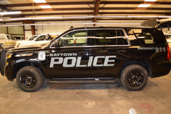 Law Enforcement Vehicle Stealth Graphics Decal Kit FS-KIT-49