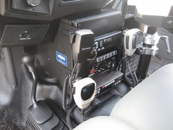 Ford F250-550 11 Inch Console by Havis 2011-2016, includes faceplates and filler panels