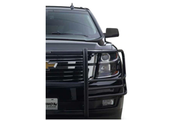 GO RHINO Chevrolet Tahoe 2015-2020 Push Bumper, 5000 Series, Optional Brush Guard Wrap, Steel, choose Texture or Gloss
