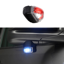 Whelen LINSV2 V-Series LED Warning and Puddle Light Head, Under Side-View Mirror Mount