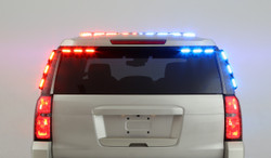 Whelen Chevy Tahoe Outer Edge 2015-2020 OE45UR-, & 2021+ OE54UR- Spoiler LED Light bar with Micron Light Heads