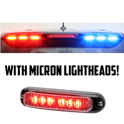 Whelen 2013-2019 Ford Police Interceptor SUV Utility Explorer Outer Edge Spoiler LED Lightbar OE34UR