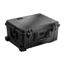 Pelican 1610 Large Protector Case - Polyurethane Wheels with Stainless Steel Bearings, Hard Case with Optional Foam Insert, Padded Divider or TrekPak Divider System, Available in Black or OD Green, 25 x 20 x 13, 25 lbs (21 lbs w-out foam insert)