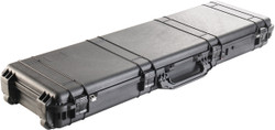Pelican 1750 Protector Long Rifle and Shotgun Case - Watertight, Crushproof, and Dustproof, With Optional Foam Insert, 54x17x7, 22 lbs