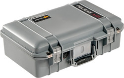 Pelican 1485 Air Small Case - Super Lightweight Design, Watertight Hard Case with Optional Foam Insert, Available in Black, Silver, Orange, or Yellow, 20 x 14 x 22, 21 lbs (19 lbs w-out foam insert)