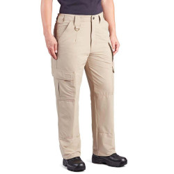Propper F5295-2Y Women's Stretch Tactical Pants, Relaxed Fit, Nylon/Spandex micro ripstop with Teflon fabric protector, Knee Pad Pockets, Ammo Pocket, available in Black, Khaki, Olive Green, or LAPD Navy