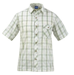 Propper® F5352 Covert Casual Button-Down Tactical Shirt, Short Sleeve, 1 Chest Pocket, Polyester/Nylon, plain weave, available in sage plaid, blue plaid, mallard plaid and brick plaid,