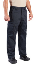 Propper F5285-14 Men's CRITICAL RESPONSE EMS/EMT Tactical Pants, Adjustable Waistband, D-Rings, Classic/Straight, Polyester/Cotton, Uniform/Cargo, Twill, available in Black and LAPD Navy