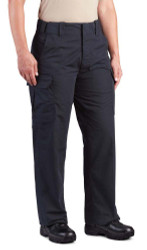 Propper F5297 Women's Class B Tactical Uniform/Cargo Pants, Polyester/Cotton with Teflon fabric protector, Classic/Straight, available in Black, LAPD Navy, and Khaki F5297