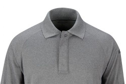 Propper® Men's Snag-Free Tactical Polo, Long Sleeve, 100% polyester, available in black, grey, silver tan, green and LAPD Navy, mic/sunglasses loop, F5362